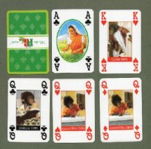 Collectible  Advertising  playing cards . PG tips